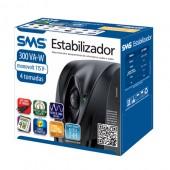 Estabilizador SMS SPEED  300VA Bivolt automático ( entrada 115V ou 220V  saída 115V )