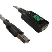 Cabo Extensor USB Ativo 5Mts