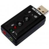 Adaptador USB para som 7.1 canais