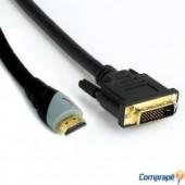 Cabo DVI-D 24+1 x HDMI 19P-M 1,80Mt
